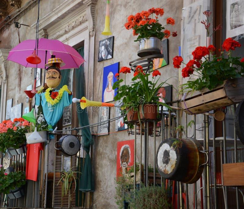 Sicily oryginalność i kicz obraz royalty free