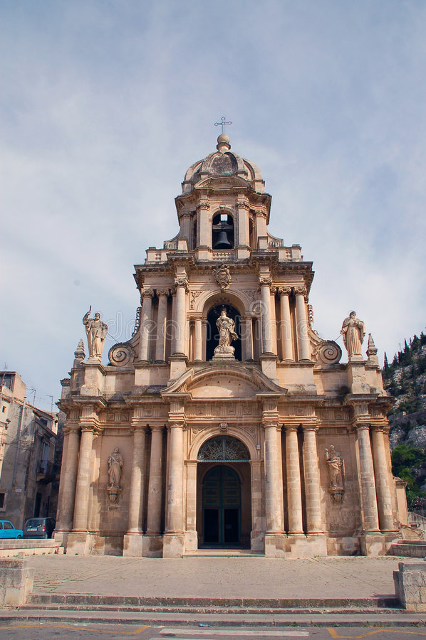Sicily - Scicli royalty free stock photo