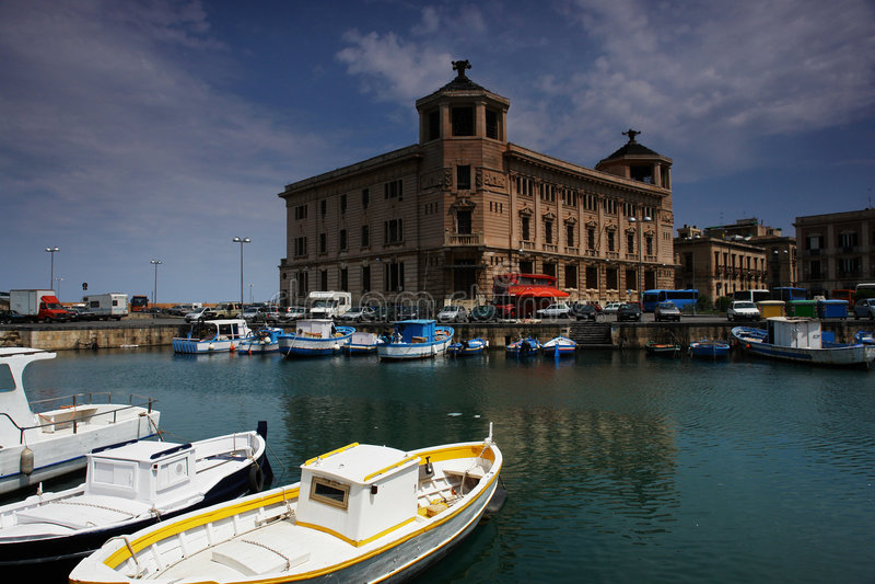 Sicily syracuse stock photography
