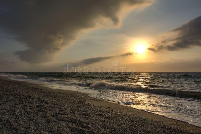 Sicily wybrzeże zdjęcia stock