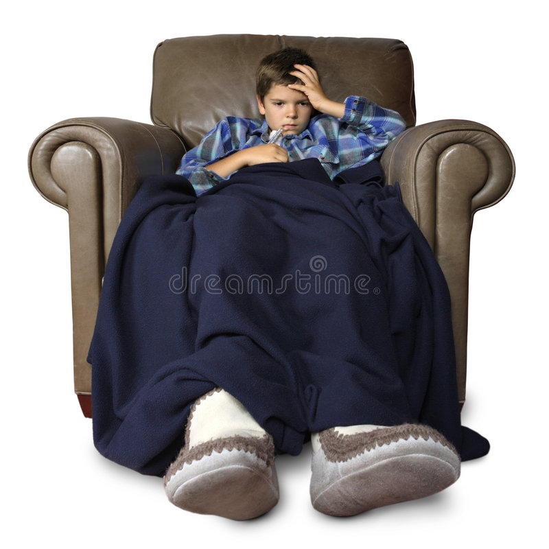 Download Sick in the big chair stock image. Image of health, diagnosis - 7080575