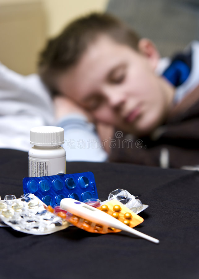 Download Sick boy stock image. Image of disease, schoolboy, health - 8306753