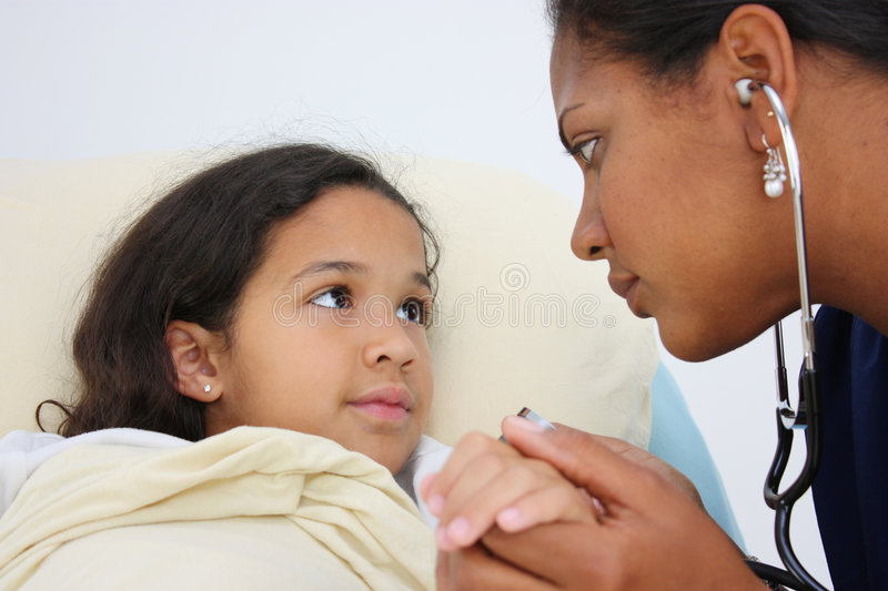 Download Sick Child stock image. Image of american, care, hands - 5181357