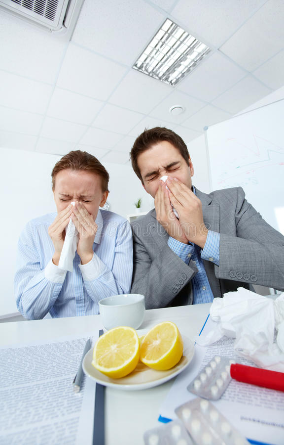 Download Sick companions stock image. Image of businesspeople - 24739725