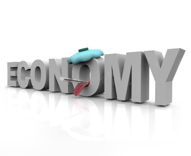 Download Sick Economy - Word stock illustration. Image of downturn - 11549984