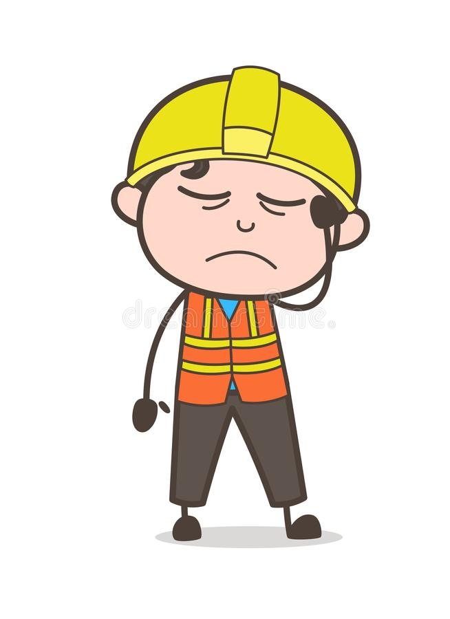 Sick face expression cute cartoon male engineer illustration stock download sick face expression cute cartoon male engineer illustration stock vector illustration of foreman thecheapjerseys Image collections