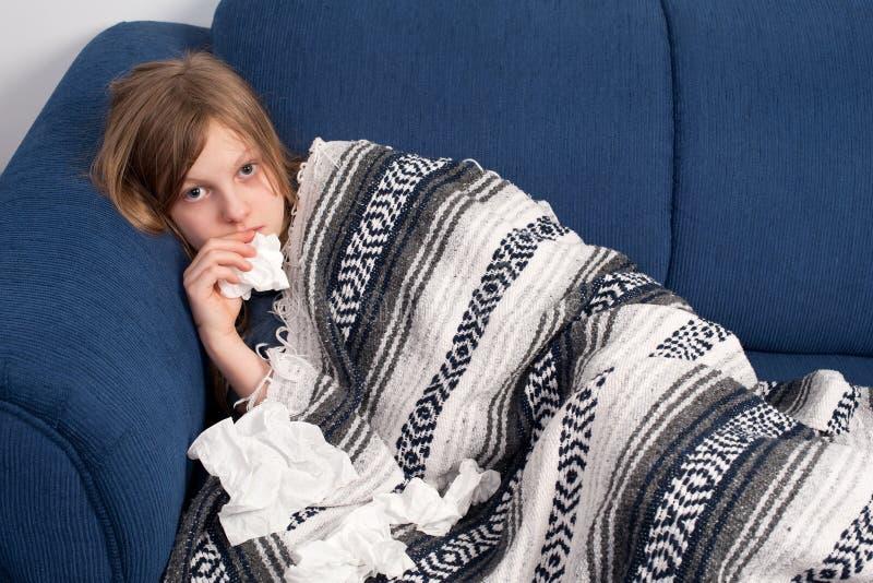 Download Sick girl stock photo. Image of eyes, portrait, caucasian - 8322620