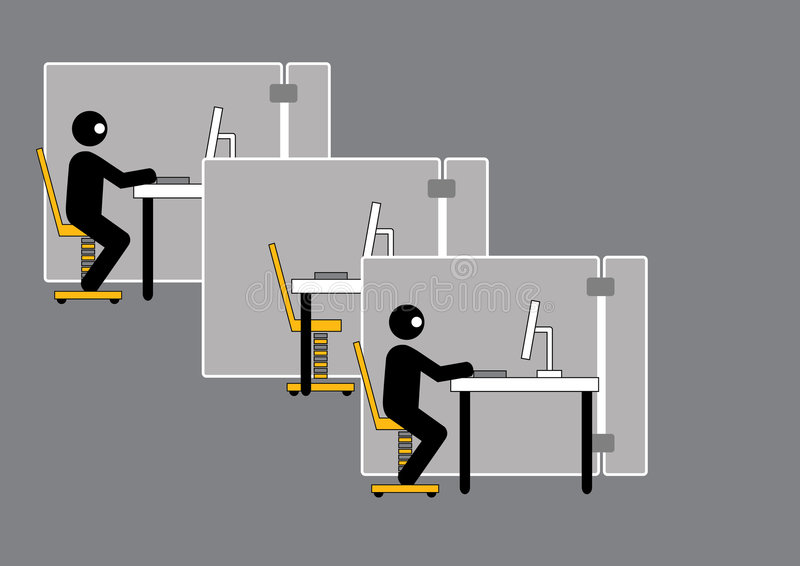 Download Sick leave worker stock illustration. Illustration of graphic - 7174370
