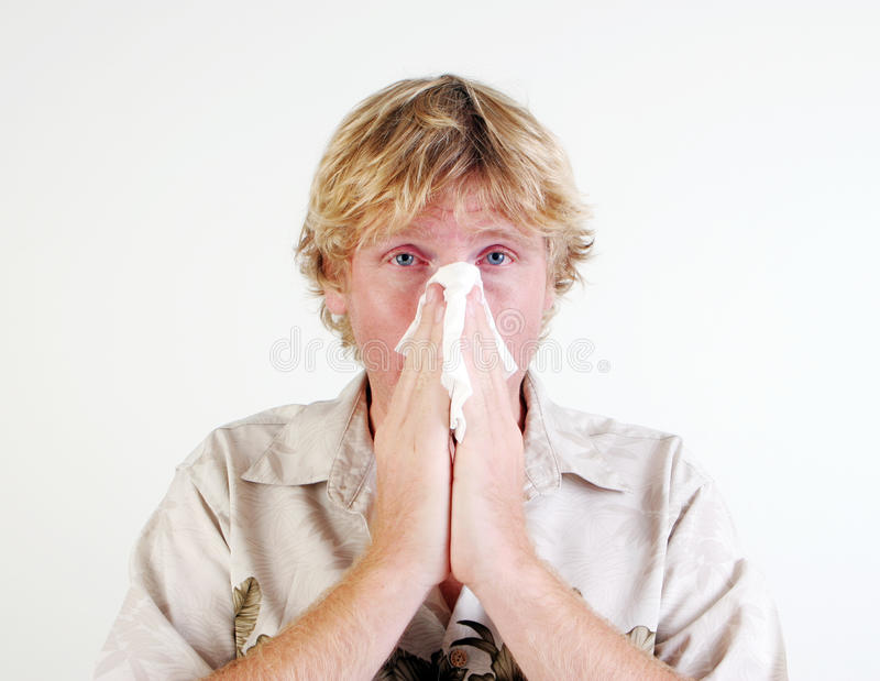 Download Sick man. stock photo. Image of adult, cold, sickness - 11765108