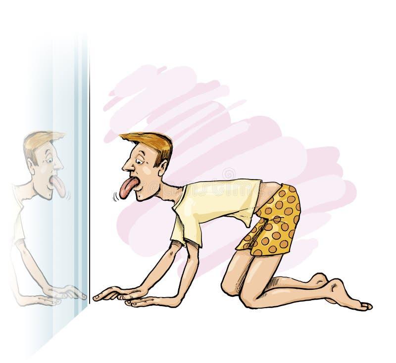 Sick Man Stock Image