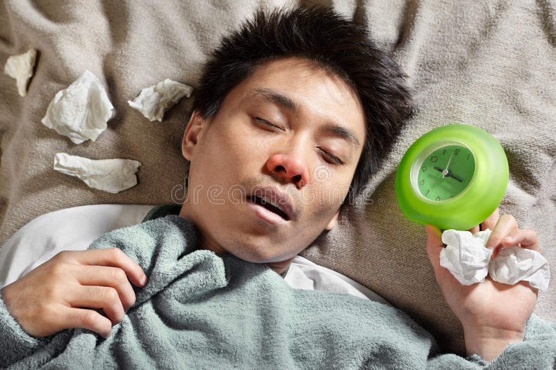 Download Sick person stock photo. Image of cold, alone, illness - 16060738