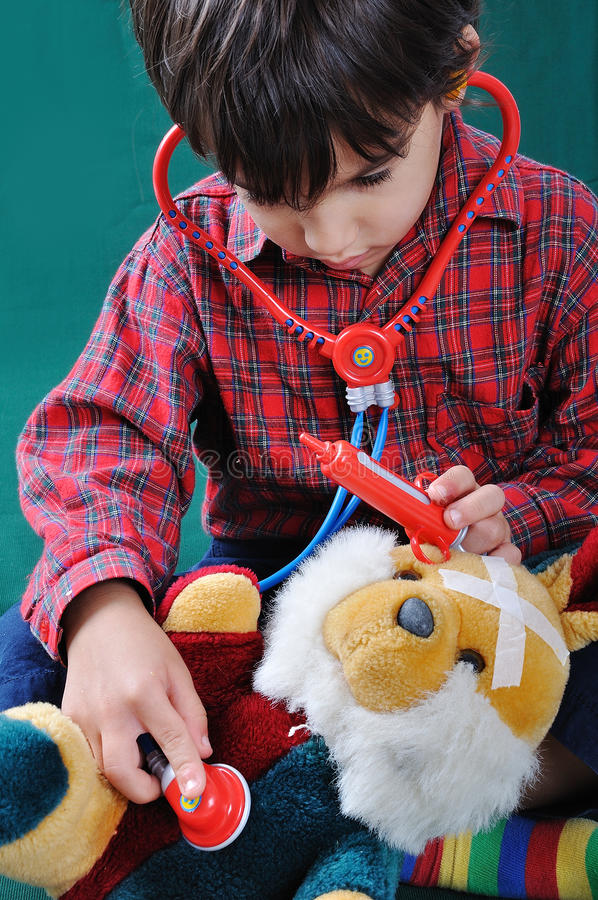 Sick Toy Royalty Free Stock Photography