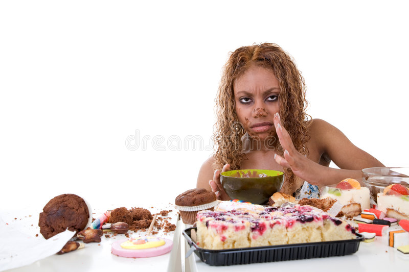 Sick And Unhappy Stock Photo