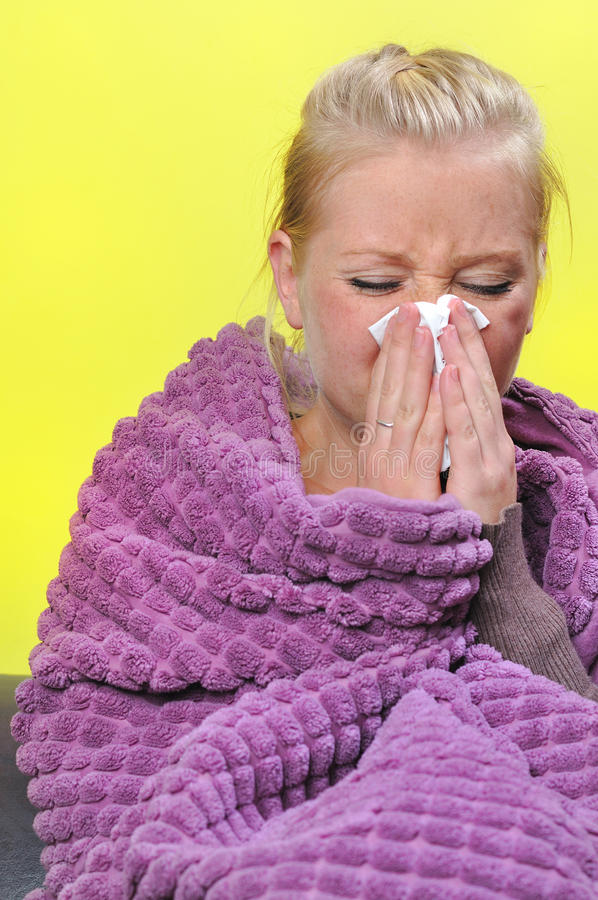 Download Sick Woman. Stock Images - Image: 27401754