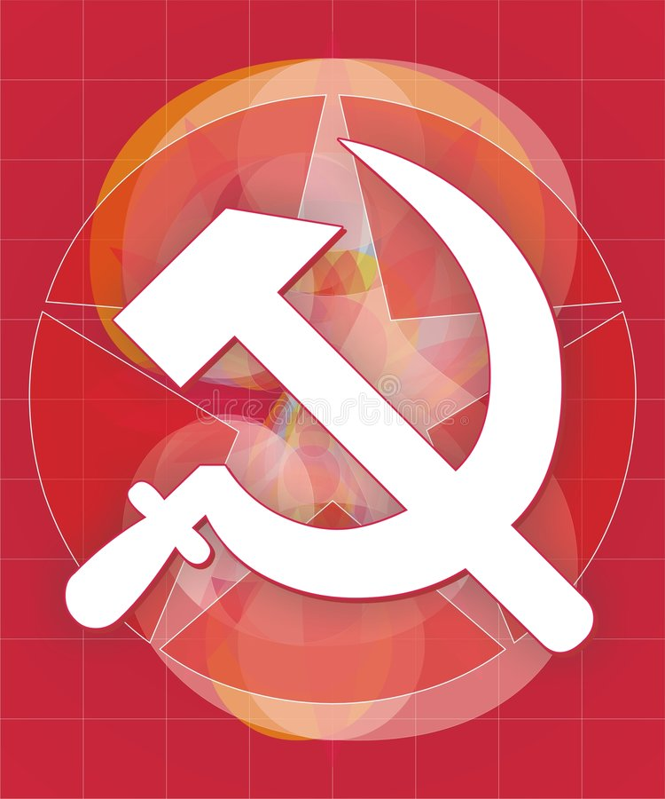 Download Sickle and hammer stock vector. Image of soviet, star - 3972805