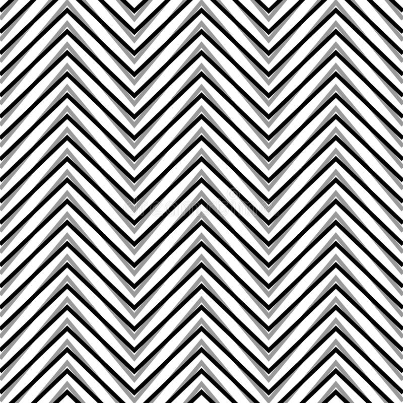 Sicksack korrugerade göra ett hack i linjer Dynamiskt irregularband vektor illustrationer