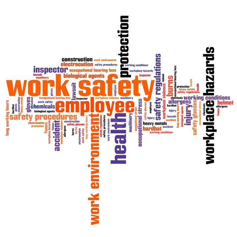 Sicurezza del lavoro royalty illustrazione gratis