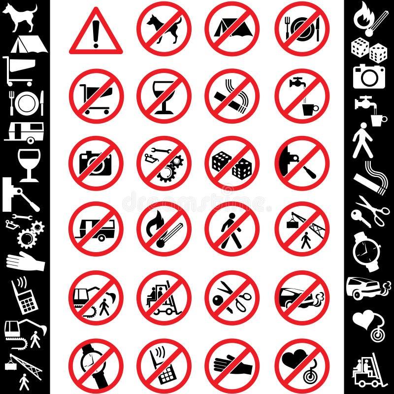 Sicurezza delle icone royalty illustrazione gratis
