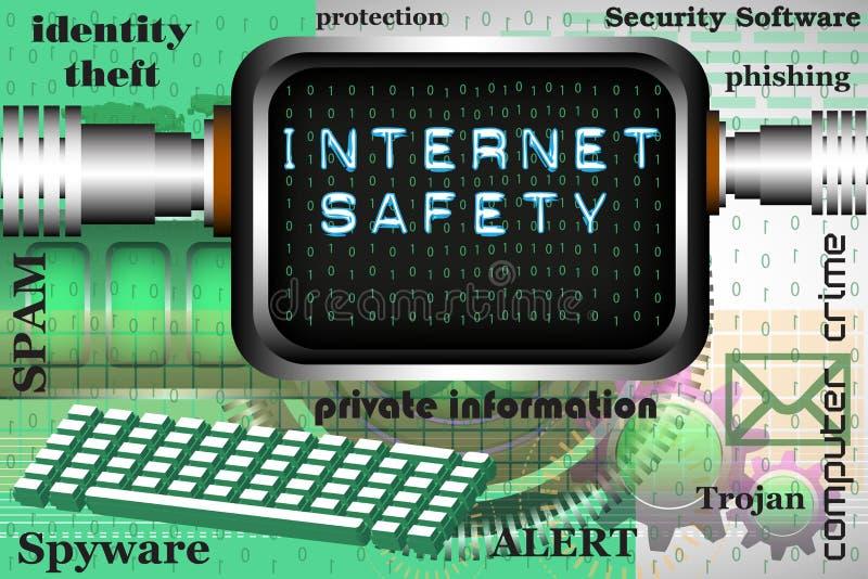 Sicurezza di Internet illustrazione di stock