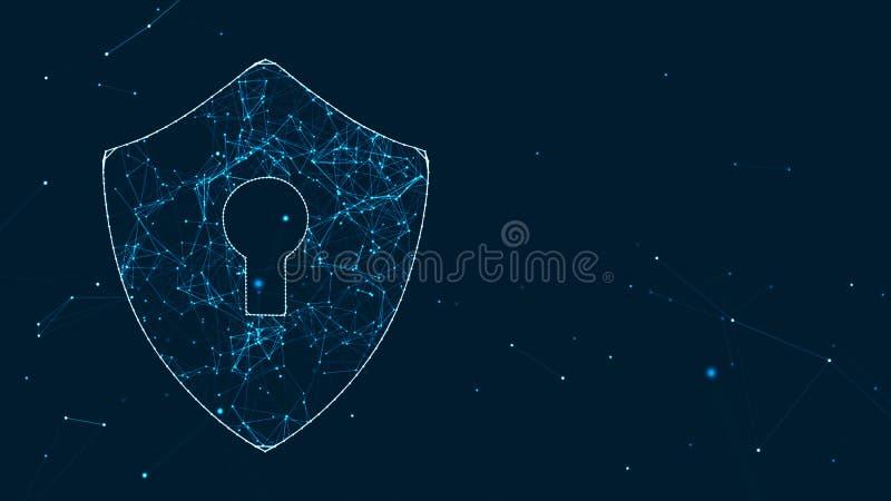 Sicurezza di tecnologia royalty illustrazione gratis