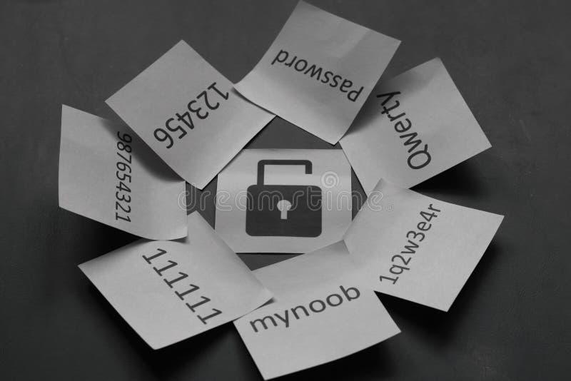 Sicurezza online immagini stock