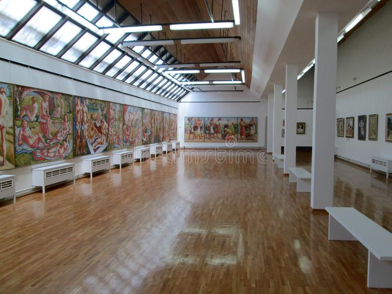 SID SERBIA, MAJ, - 2: Obrazy W galerii sztuki Sava Sumanovic, Sid zdjęcie royalty free