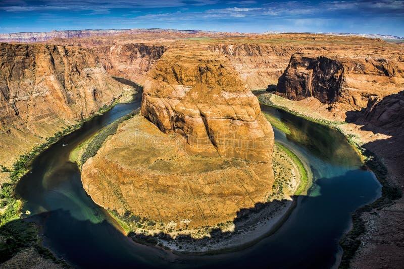 sida USA för anteckningsbok för man för arizona böjningshästsko fotografering för bildbyråer