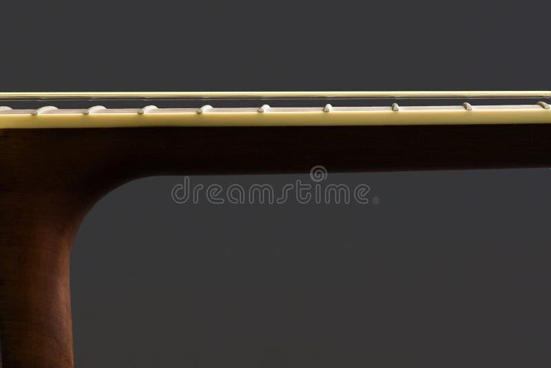 Gitarren hånglar och förkroppsligar royaltyfria bilder