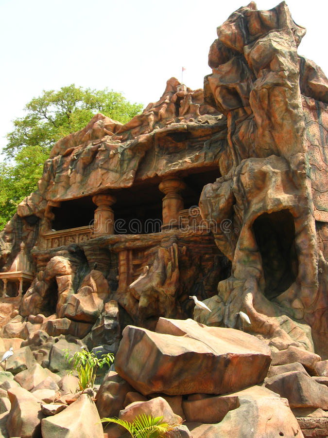 siddheshwar grottastadskolhapur arkivfoto