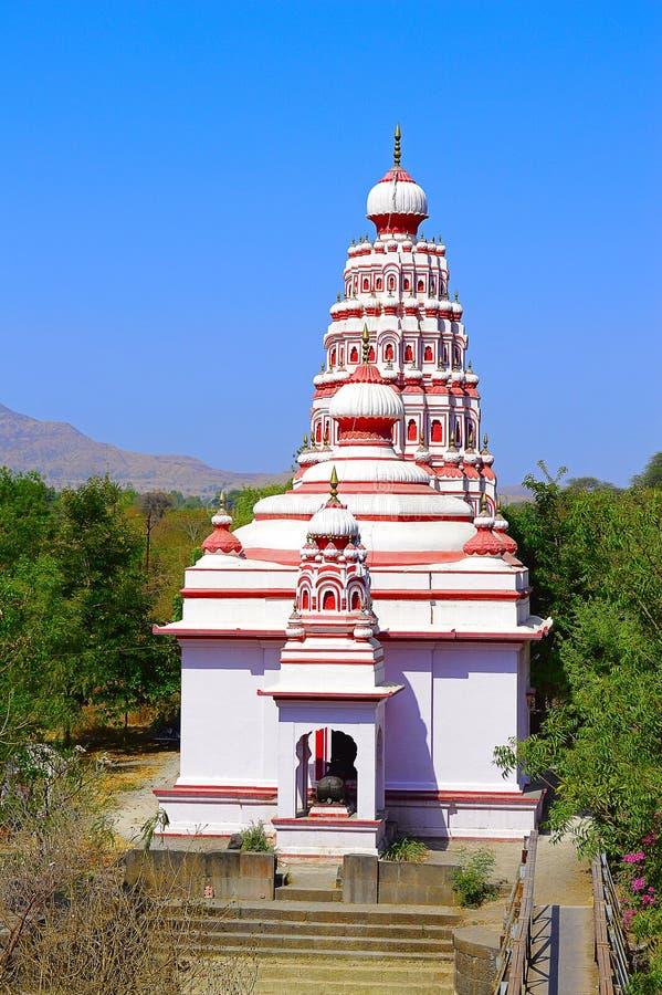 Siddheshwar tempel nära Saswad, Pune royaltyfria foton