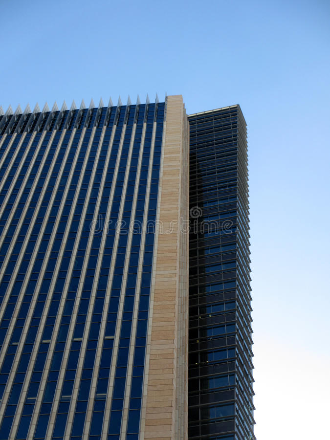 Side Angle Of Tall Building Stock Images