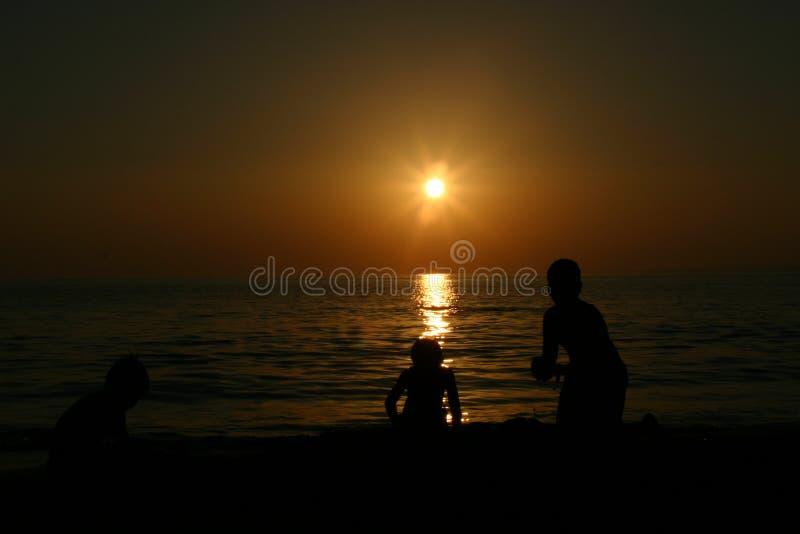 Side Antalya Turkiye sunset royalty free stock photo