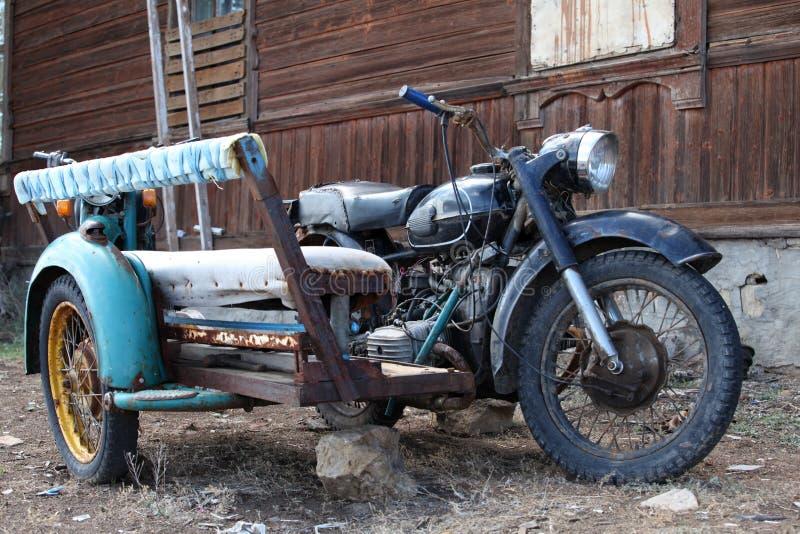 Side-car do vintage imagem de stock