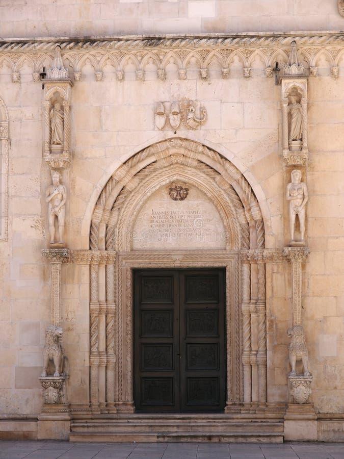 Download Side Door Of St. James In Sibenik Royalty Free Stock Photo - Image: 24794305