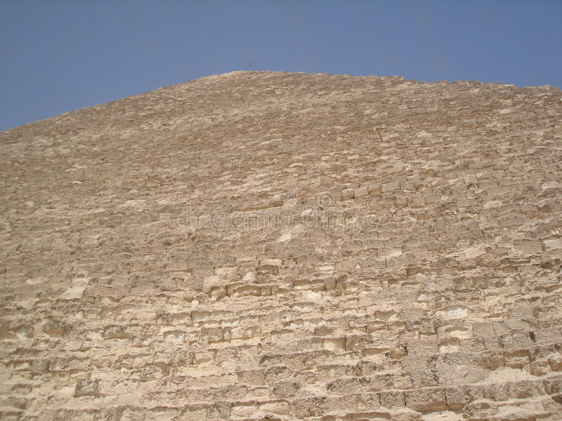 Download Side of Egyptian pyramid stock image. Image of egypt, exterior - 927529