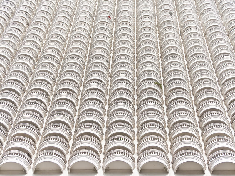 Download By-side full Balcony. stock image. Image of architecture - 28972991