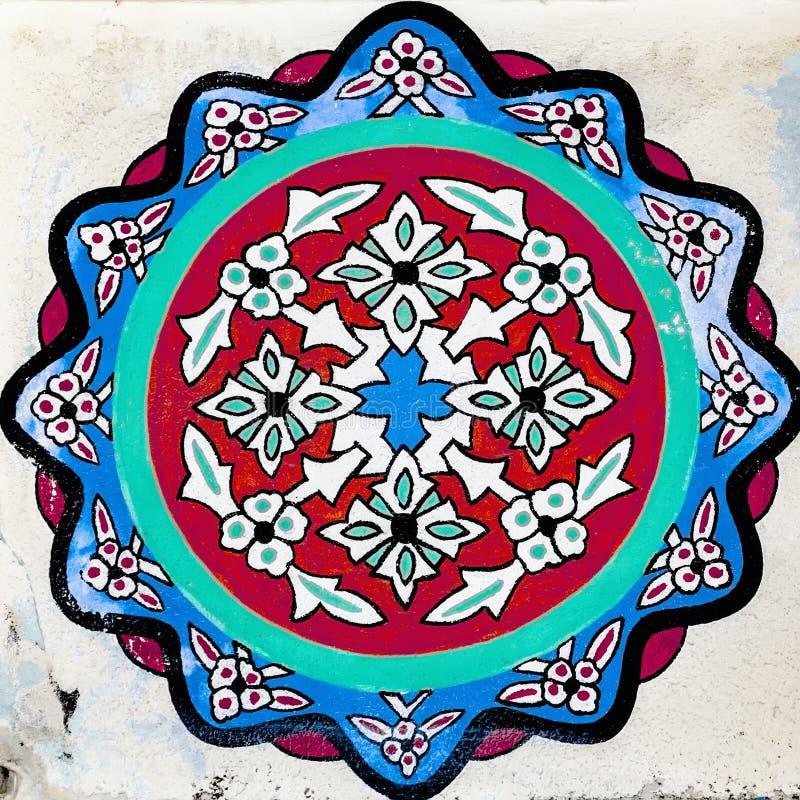 Side Islamic Flower Art stock images