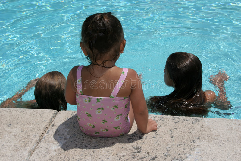 Download Side-line View stock photo. Image of girls, swimming, childhood - 993992