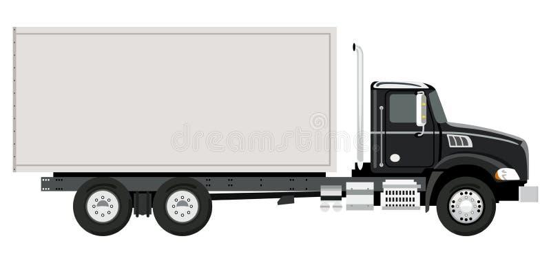 Side truck royalty free illustration