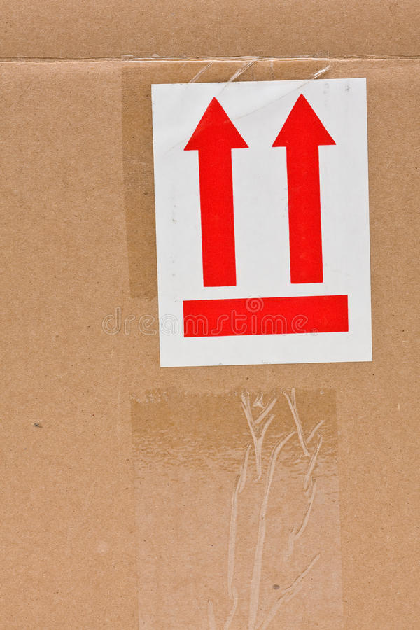 Download This side up stock photo. Image of direction, card, pointing - 15490422