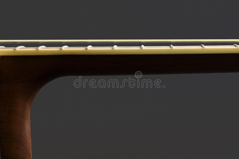 Download Guitar Neck And Body Stock Image Of Bridge Acoustic