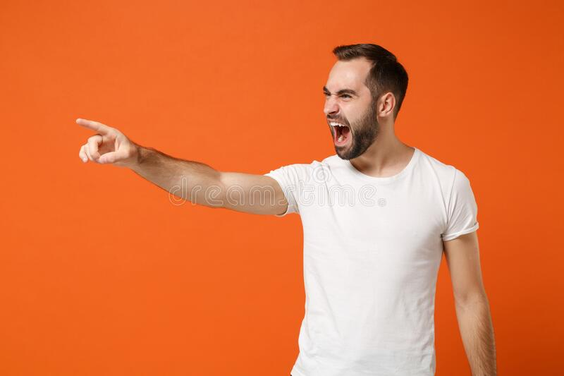 278 Angry Man Screaming Side View Photos - Free & Royalty ...