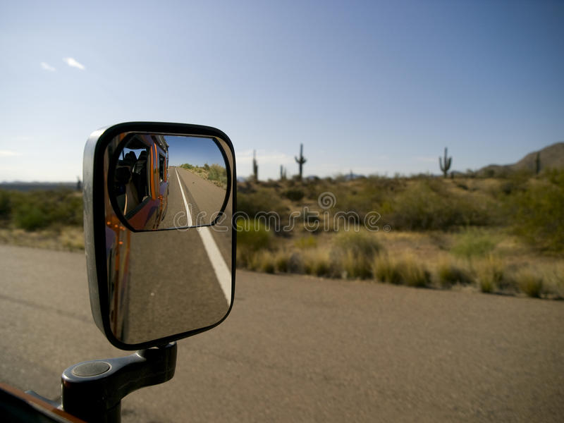 Side View Mirror stock images