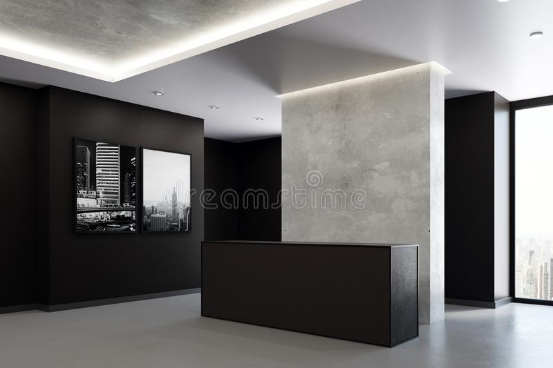 Download Modern Office Reception Stock Photo. Image Of Corporate   107614172