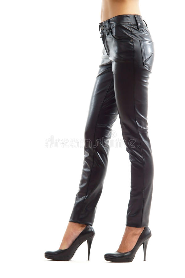 Download Side view on female legs stock photo. Image of attractive - 16195136