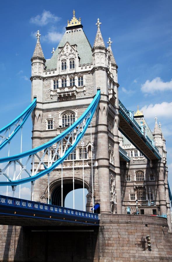 Download Side view of Tower Bridge stock image. Image of landmark - 14153901