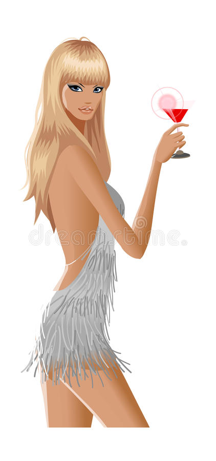 Download Side view of woman stock vector. Illustration of female - 33930815