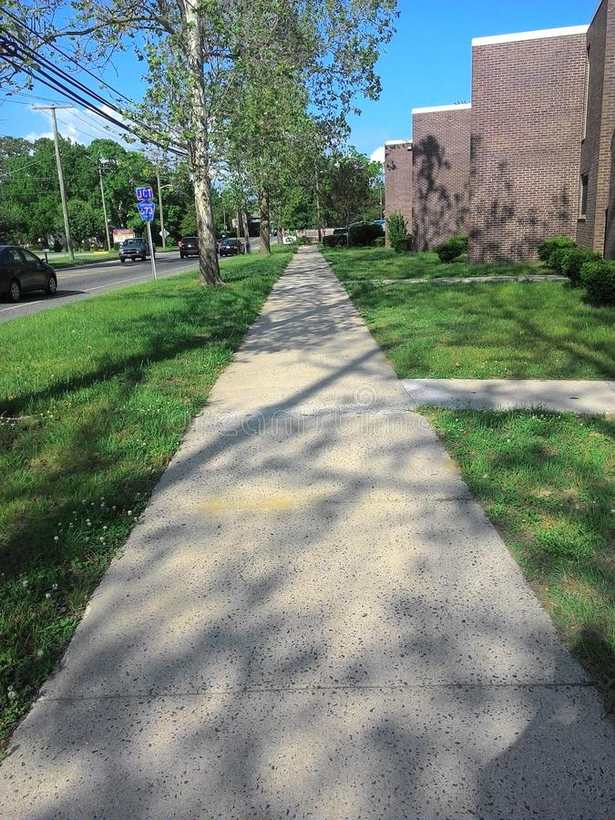 Side Walk royalty free stock photography