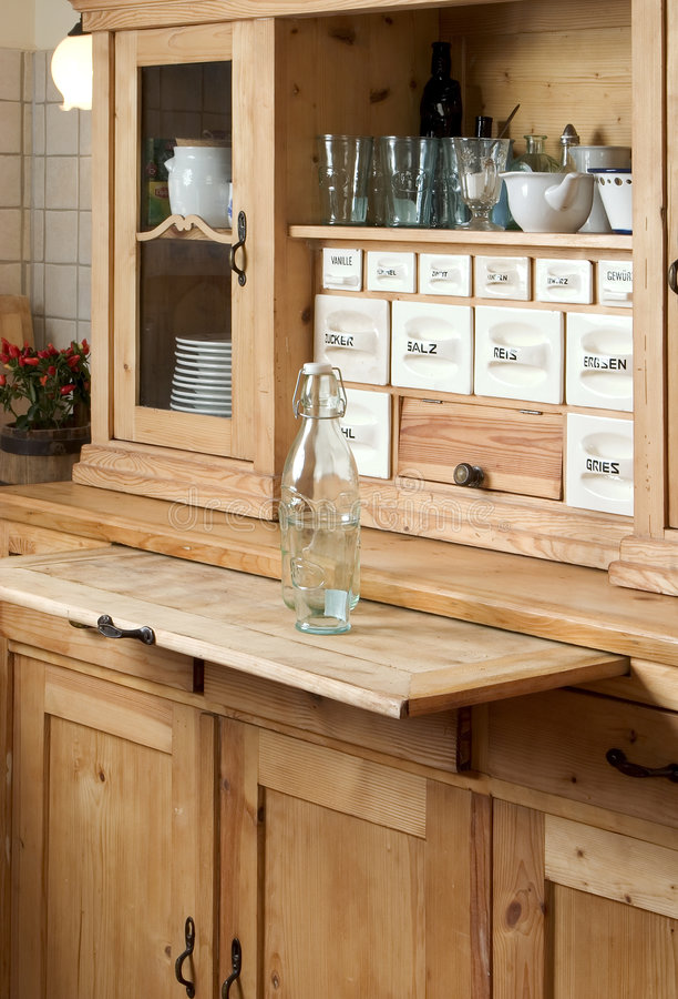 Sideboard In Der Küche Stockbild. Bild Von Küche, Fach - 8622491