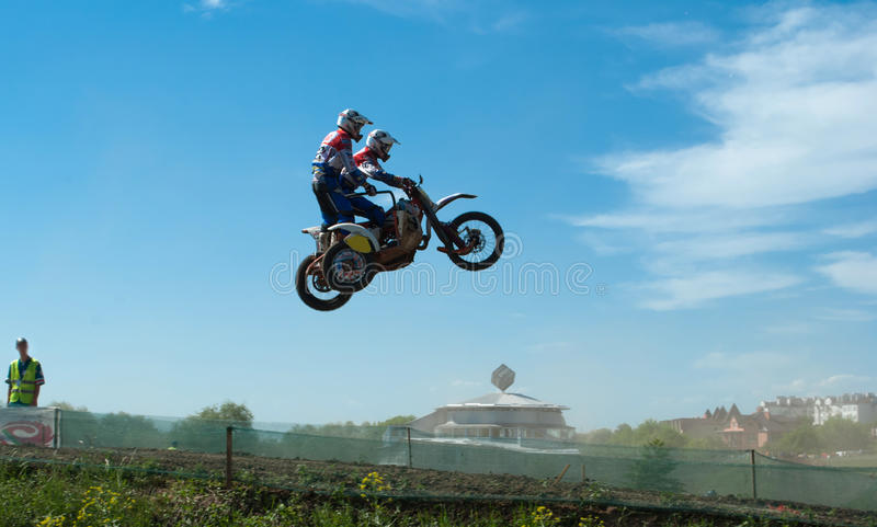 Sidecar motocross stock photos